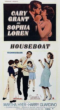 Houseboat (1958) - Cary Grant, Sophia Loren, Martha Hyer