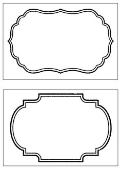 Looking for a Free Printable Blank Labels Template. We have Free Printable Blank Labels Template and the other about Printable Diagram it free. Food Label Template, Name Tag Templates, Free Label Templates, Address Label Template, Labels Free, Border Templates, Design Templates, Molduras Vintage, Party Food Labels