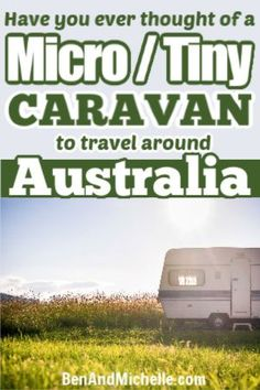 Have you ever thought about doing your travels around Australia in a micro caravan? You'll save on fuel and set up time, yet you'll still have everything you need for a very comfortable trip. We look for all the micro caravans Australia that have a toilet and shower, and an inside kitchen. #microcaravans Small Caravans, Western Australia, Australia Travel, Mini Caravan, Rv Motorhomes, Fuel Prices, Romantic Travel, Plan Your Trip