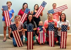 how to create patriotic plank art