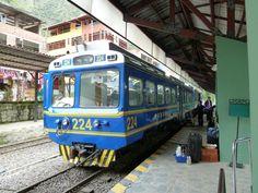 the train to Michu Pichu, Peru