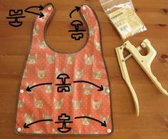 ベビー用お食事エプロンの作り方(はじめに編) Handmade, Hand Made, Handarbeit