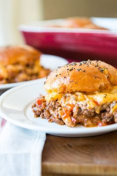 Well I've officially put on my fat pants and made the ultimate comfort food, cheesy sloppy joe sliders. That's right saucy sloppy joes in a whole new way.