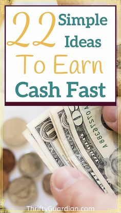 Ideas on how to earn money quickly, from selling photos to working online, and more! Make money selling stock photos, with garage sales, selling electronics, and many other tips to work from home. Work from home using these tips! #workfromhome #moneymaking #wahm #earncash #onlinejobs Ways To Earn Money, Earn Money Online, Money Tips, Money Saving Tips, Way To Make Money, Saving Ideas, Money Hacks, Online Jobs, Make Cash Fast