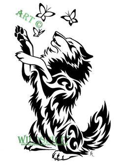 9fee5d3c1a1882e615317f6b58e09034 Wolf Tattoos