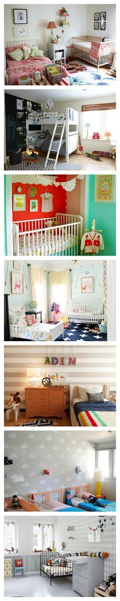 Use this inspiring guide to decorating a shared bedroom for your kids.