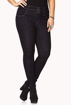 love these high waist jeans