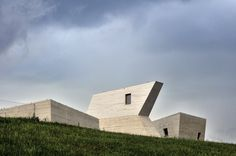 Completed in 2016 in Pavlov, Czech Republic. Images by Gabriel Dvořák. For many decades now, excavations at the complex of Palaeolithic (the period of mammoth hunters) settlements have unearthed a huge number of stone...