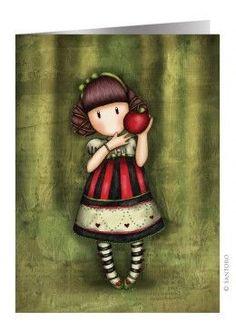Gorjuss Dear Apple range from Santoro London. Click and view all our Gorjuss items with Dear Apple artwork design. Little Doll, Little Girls, Santoro London, Mosaic Crosses, Shell Crafts, Cute Images, Copics, Girl Cartoon, Clipart