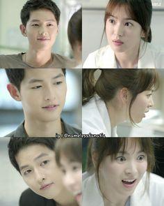 song hye kyo 송혜교 and song joong ki 송중기 descendants of the sun 태양의후예