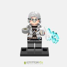 Miniatura Mercúrio (quicksilver) X-men - Compatível Com Lego