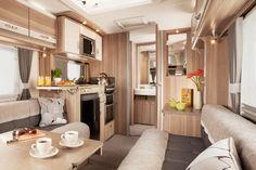 Modern Caravan Interior Design Inspirations: Eccles Topaz SE Rear Interior Design