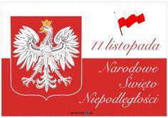 11 listopada - napis - Printoteka.pl Kids And Parenting, Origami, Education, Halloween, Cards, Handmade, Historia, Polish Language, Poland