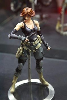 Konami had a huge presence at Tokyo Game Show 2012 highlighted by the amazing Square Enix PLAY ART [KAI] Metal Gear Solid Figurines on display throughout the event.