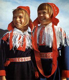 サーミの少女達