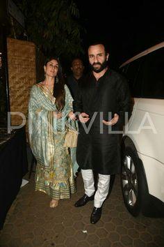 Kareena k khan and Saif Ali khan at Prithvi Festival Saif Ali Khan, Kareena Kapoor Khan, Dress Makeup, Bollywood Stars, Bridal Lehenga, Celebs, Celebrities, Anarkali, Bollywood Actress