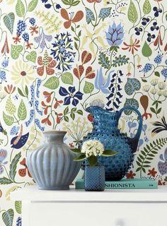 Sfondo Herbarium - Wallpaper design Boras