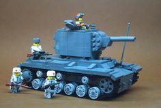 There is no land beyond the Volga! Lego Duplo, Lego Cars, Lego Moc, Lego Design, Lego Ww2 Tanks, Lego Ninjago Movie, Ghostbusters, Lego Soldiers, Lego Ritter