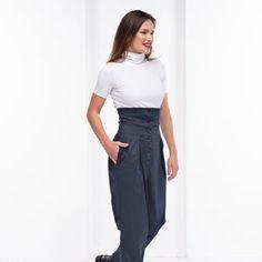 Avant Garde Pants /Harem Pants Women /Drop Crotch Pants/ Baggy   Etsy Maxi Pants, Baggy Pants, Harem Trousers, Denim Jumper, Trousers Women, Palazzo Pants, Long Pants, Steampunk Pants, Steampunk Clothing