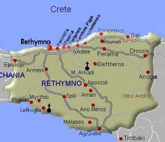 Kreta-Rethymnon de provincie - Crete