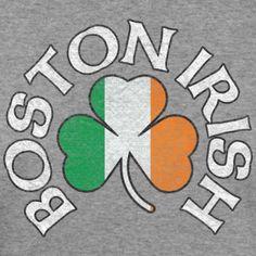 6aea31a9a Boston Irish Flag Shamrock East Coast Style