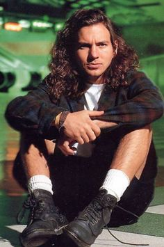 If I could turn back time and see him with Pearl Jam in concert back in the day.....