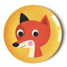 Melamintallrik FOX - Ingela Arrhenius - Favoritsaker AB