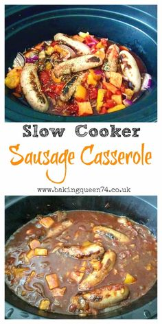 Slow Cooker Sausage Casserole Slow Cooker Sausage Casserole,Slow cooker Slow Cooker Sausage Casserole - a delicious and easy family meal pot meals dinner recipes for family recipes pot recipes easy cooker recipes Slow Cooker Chili, Sausage Casserole Slow Cooker, Slow Cooker Recipes Family, Slow Cooker Fajitas, Slow Cooker Enchiladas, Slow Cooker Huhn, Slow Cooker Lasagna, Slow Cooker Ribs, Healthy Slow Cooker