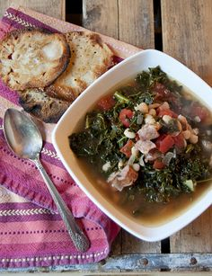 Sausage and Kale Soup - great for fall and winter.