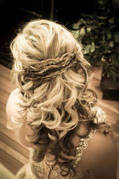 Prom hair!