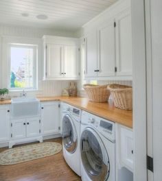 i have a thing for household appliances, washer and dryer