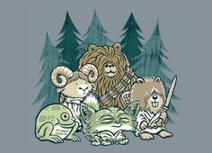 May the Forest be With You! by Keith Kuniyuki | Threadless