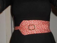 Krawatte Zu Gurtel Upcycling Kleidung Nahen Obi Filz Stickerei Alte