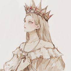 Anime Art Girl, Manga Girl, Anime Demon, Anime Manga, Character Inspiration, Character Design, Attack On Titan Fanart, Ymir, Ereri