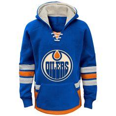 Edmonton Oilers Reebok Youth Retro Skate Hoodie - Royal - $59.99