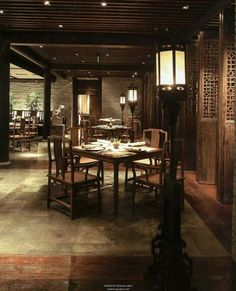 Traditional Chinese Restaurant Design