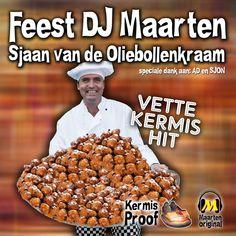 Feest DJ Maarten - Sjaan Van De Oliebollenkraam Itunes, Dog Food Recipes, Make It Yourself, Video Clip