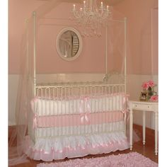 Miss Princess Crib Bedding