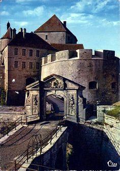 Carte postale Castle or Fort de Joux, France