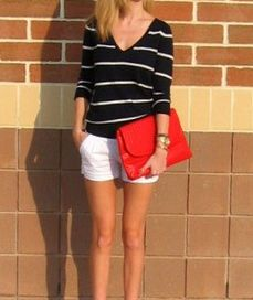 Go to easy summer outfit. Love this look
