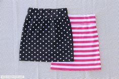 Tutorial: 30-minute tube skirt