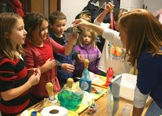 Top ten STEM projects for back to school; this website had many activities for all different ages of students.