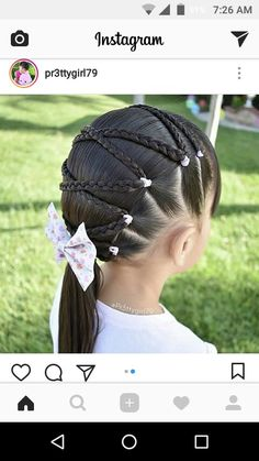 Braided Hairstyle、Children、Kids、For School、Little Girls、Children's Hairstyles、For Long Hair;Cute Child;Children's Photo Childrens Hairstyles, Lil Girl Hairstyles, Princess Hairstyles, Trendy Hairstyles, Braided Hairstyles, Kids Hairstyle, Hairdos, Girl Hair Dos, Cute Haircuts