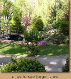 spring backyards