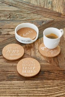 Coming Soon | Rivièra Maison Serving Cork Coasters