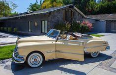 All American Сlassic Сars • 1950 Pontiac Chieftain DeLuxe 2-Door Convertible...