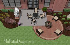 DIY Patio | Small Patio Designs | Download Patio Plans