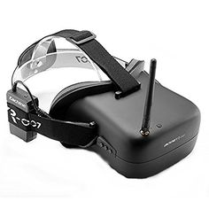 Uphig Eachine VR-007 5.8G 40CH FPV Racing Drone Goggles Video Glasses 4.3 Inch with Battery for DJI Drone Racer 250 ** Be sure to check out this awesome product.