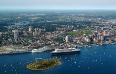"This is Halifax, the capital city of Nova Scotia. I am a country guy and country people only go to the big city when they 'got to"". It can be confusing to navigate but it is a real nice city, if you like cities. Beautiful Places To Visit, Places To See, Halifax Map, Halifax Canada, Atlantic Canada, O Canada, Canada Trip, Prince Edward Island, Cruises"