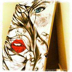 "My newest piece ""#3"" For sale $999 contact artist Shon.lieberman@gmail.com"